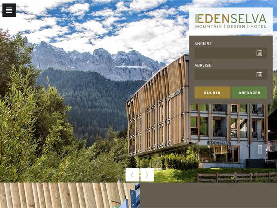 Mountain design hotel eden in wolkenstein gr den for Design hotel eden